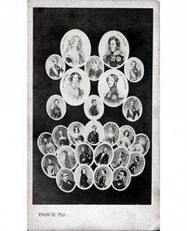 Mosaïque de la famille du Duc d'Orléans