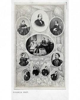 Mosaïque de la famille de Napoléon III