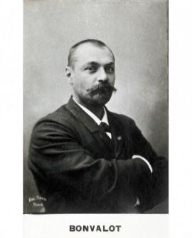 Portrait de l'explorateur Pierre Gabriel Édouard Bonvalot