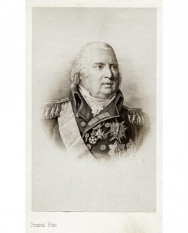 Portrait d'un roi avec décorations