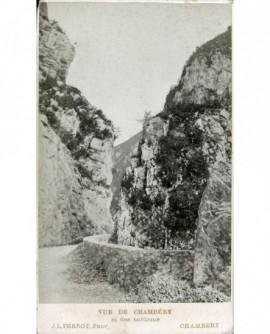 Route de montagne, Val du Fier