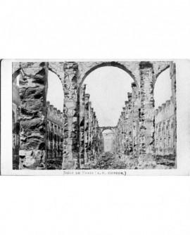 Ruines du grenier d'abondance. Paris 1870