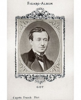 Comédien François Jules GOT