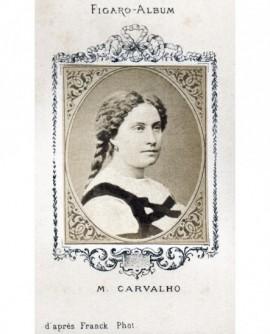 la cantatrice Miolan-Carvalho Caroline