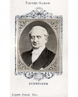 Portrait de monsieur SCHNEIDER