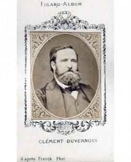 Le journaliste Clément DUVERNOIS