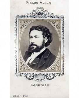 Portrait de l'écrivain Emile Gaboriau