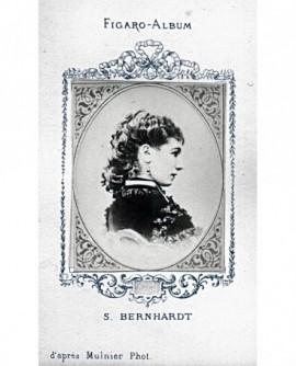 Portrait de sarah Bernardt