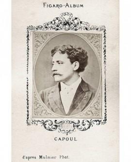 Portrait du chanteur Victor Capoul