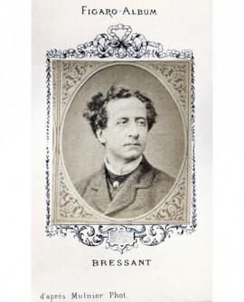 Portrait d'un homme. M. BRESSANT