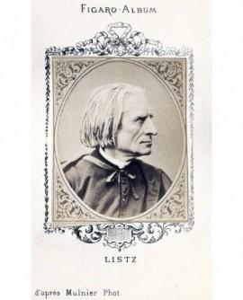 Portrait du compositeur Franz LISTZ