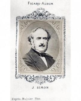 Portrait du phylosophe Jules Simon