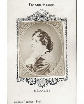 Portrait de la comédienne Dejazet