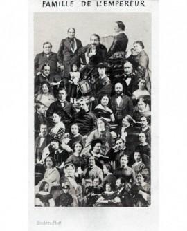 Mosaïque Famille de l'Empereur. Napoléon III