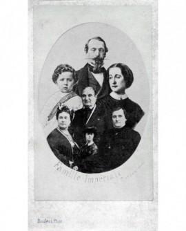 Mosaïque de la famille impériale. Napoléon III
