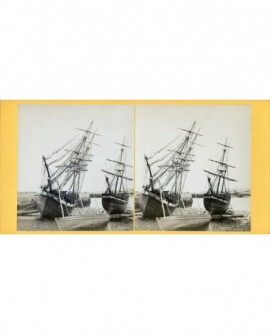Bateaux à Cherbourg (Bricks) (a)