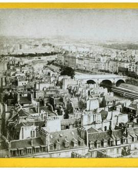Vue générale de Paris. l\'île Saint-Louis (b)