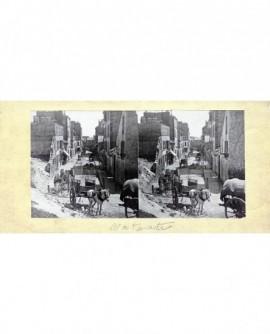 Vue de Montmartre avec cheveaux et carrioles. Paris (a)