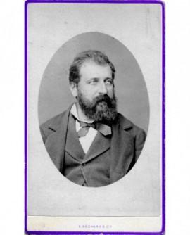 Portrait d\'un homme barbu. Félix Silhul