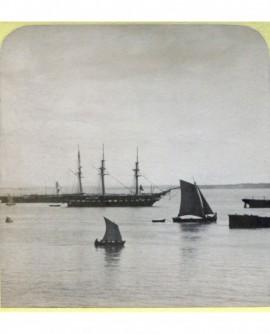 La Vénus, frègate française. Lisbonne (bateau - Portugal). b