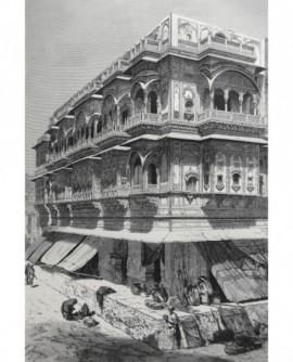 Le palais des Sêths, à Ajmir