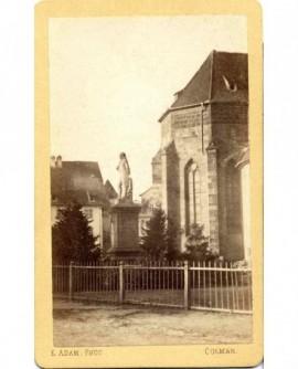 Statue du général Rapp par Bartholdi à Colmar