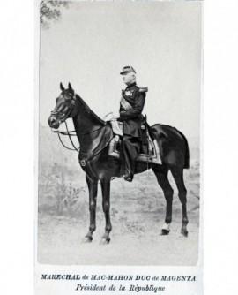 Homme à cheval. Mac Mahon, duc de Magenta