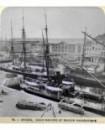 Vue des bateaux dans le port de Anvers (b)