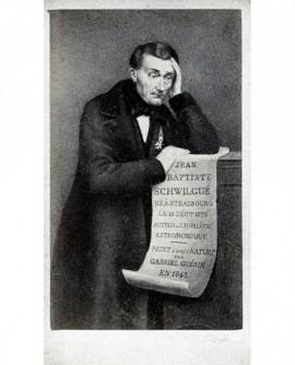 Peinture de Jean Baptiste Schwilgue, horloger