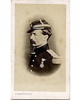 Portrait du général Chanze (?) décoré légion d\'honneur