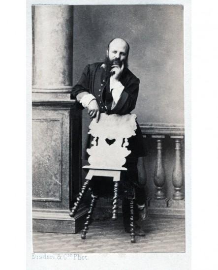 Autoportrait du photographe Disderi