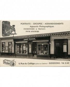 Vue extérieure du studio du photographe Vergnol à Soissons