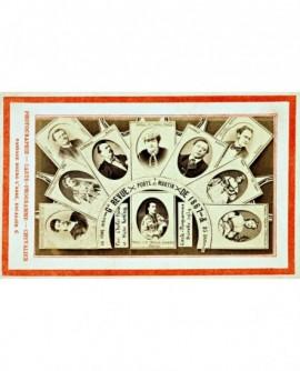 Carte Pprogramme revue porte Saint-Martin de 1867