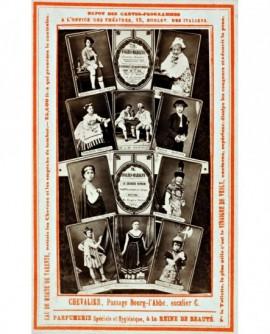 Carte programme du théâtre Folies-Martigny de 1867