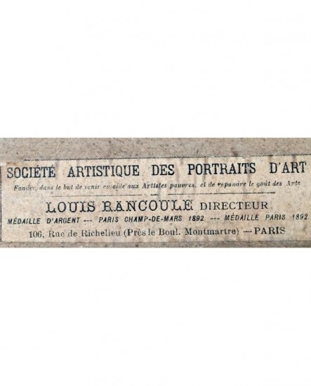 étiquette publicitaire Louis Rancoule