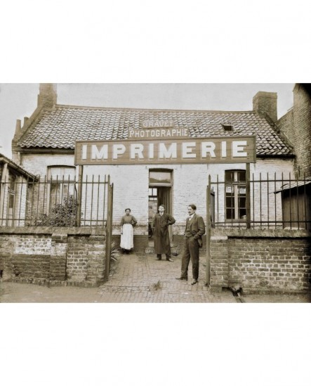 Atelier photo et imprimerie du photographe Louis Gravet