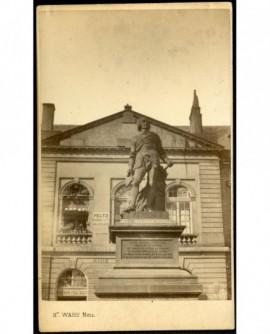Statue du maréchal Fabert (à Metz)
