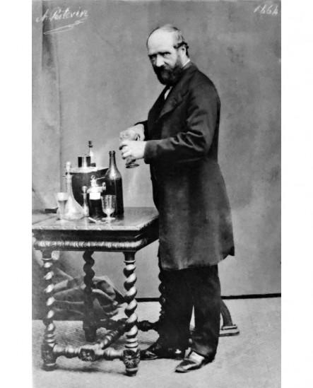 Autoportrait du photographe Alphonse Poitevin