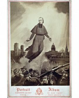 Allégorie sur la guerre de 1870. Prête et militaire