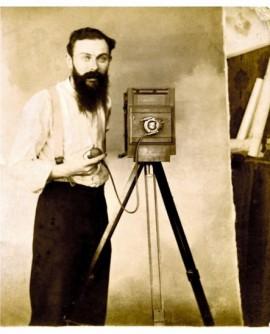 Autoportrait du photographe Antoine Serre