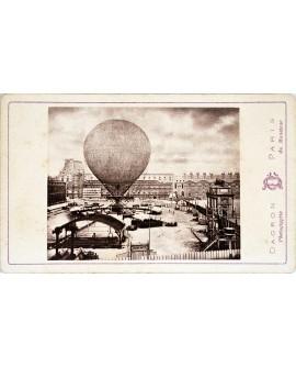 Ballon captif le Monteur à Paris