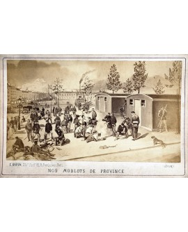 Mobiles de 1870 en faction (Commune)