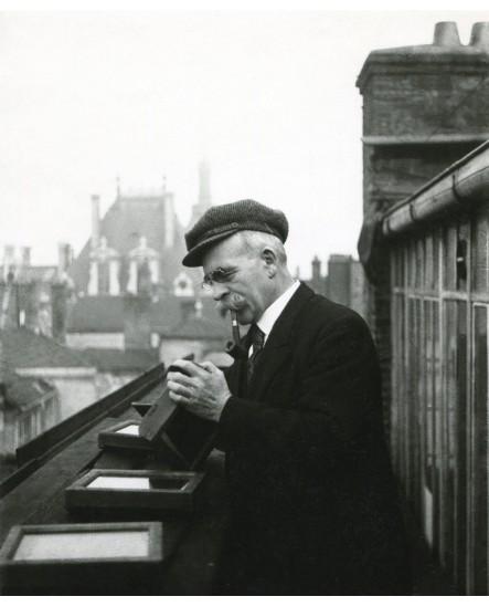 Portrait du photographe Edouard Bron