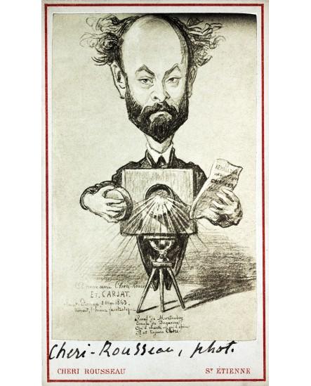 Caricature de Chéri-Rousseau par Carjat