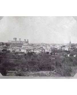 Salon de Provence avant la destruction d'une tour en 1909