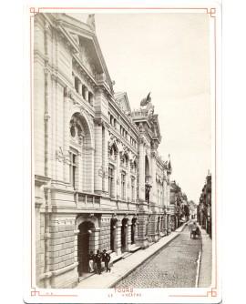 Vue générale du théâtre de Tours