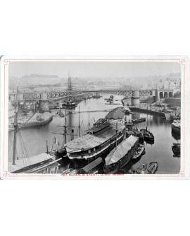 Port militaire de Brest et son pont tournant