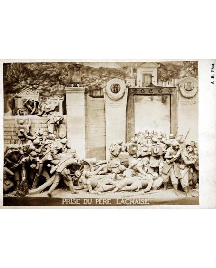 Série Les ruines de Paris, Prise au père Lachaise