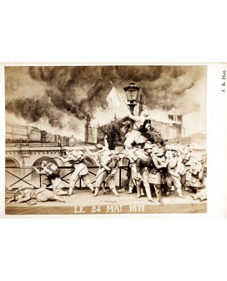 Série Ruines de Paris, Le 24 mai 1871