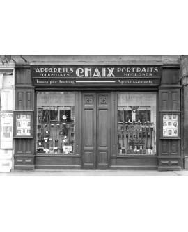 Devanture du photographe H. Chaix à Saint-Etienne